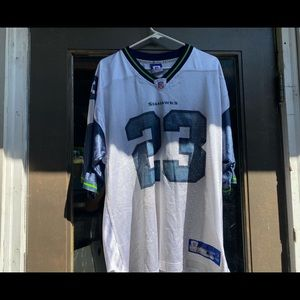 Reebok NFL Equipment  Seahawks Jersey size X-L